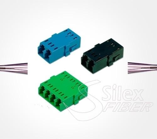 Adaptadores Keystone y Enfrentadores Fibra Optica
