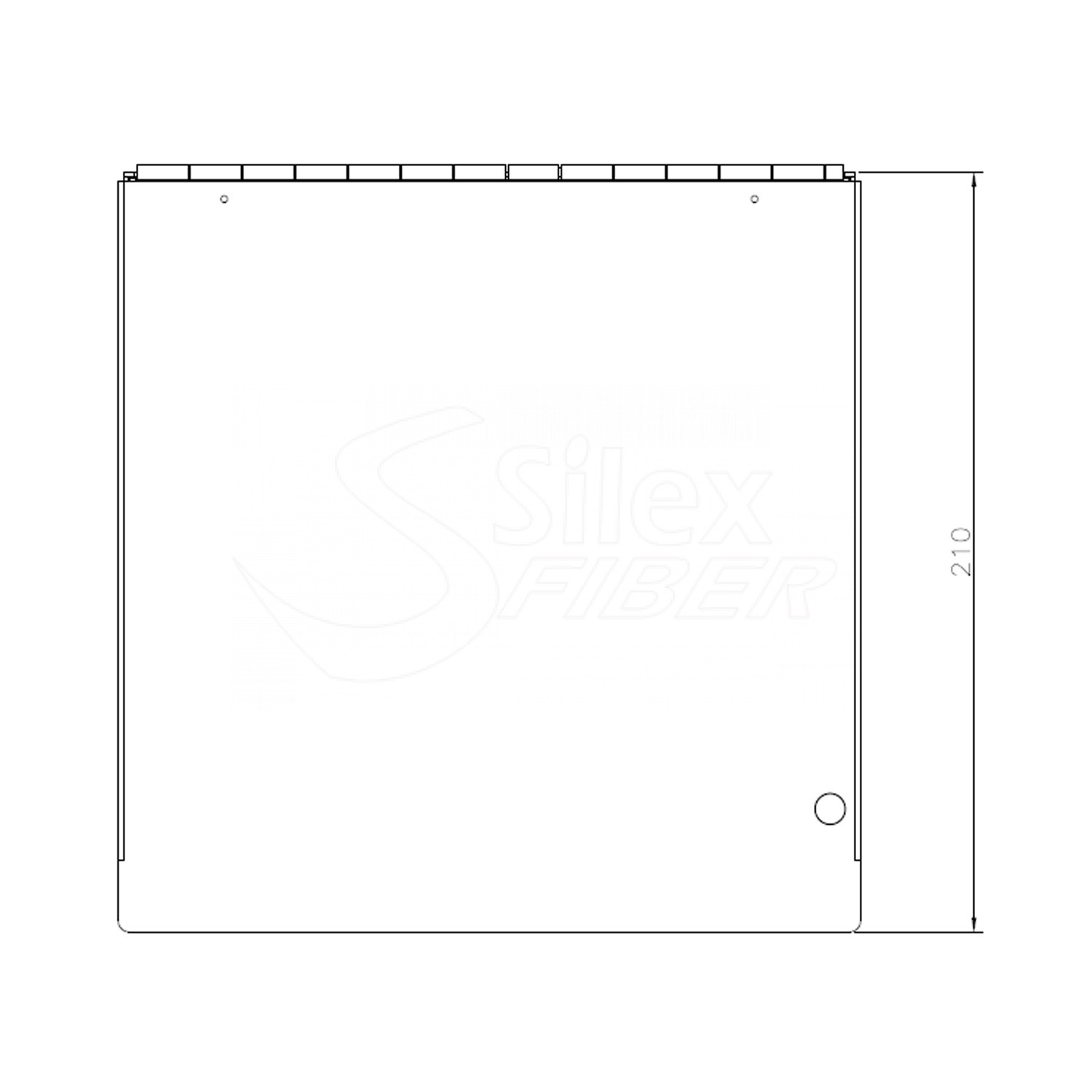 Caja Metalica Patchpanel Mural y Carril DIN SLXBOX-Y 24SC-48LC
