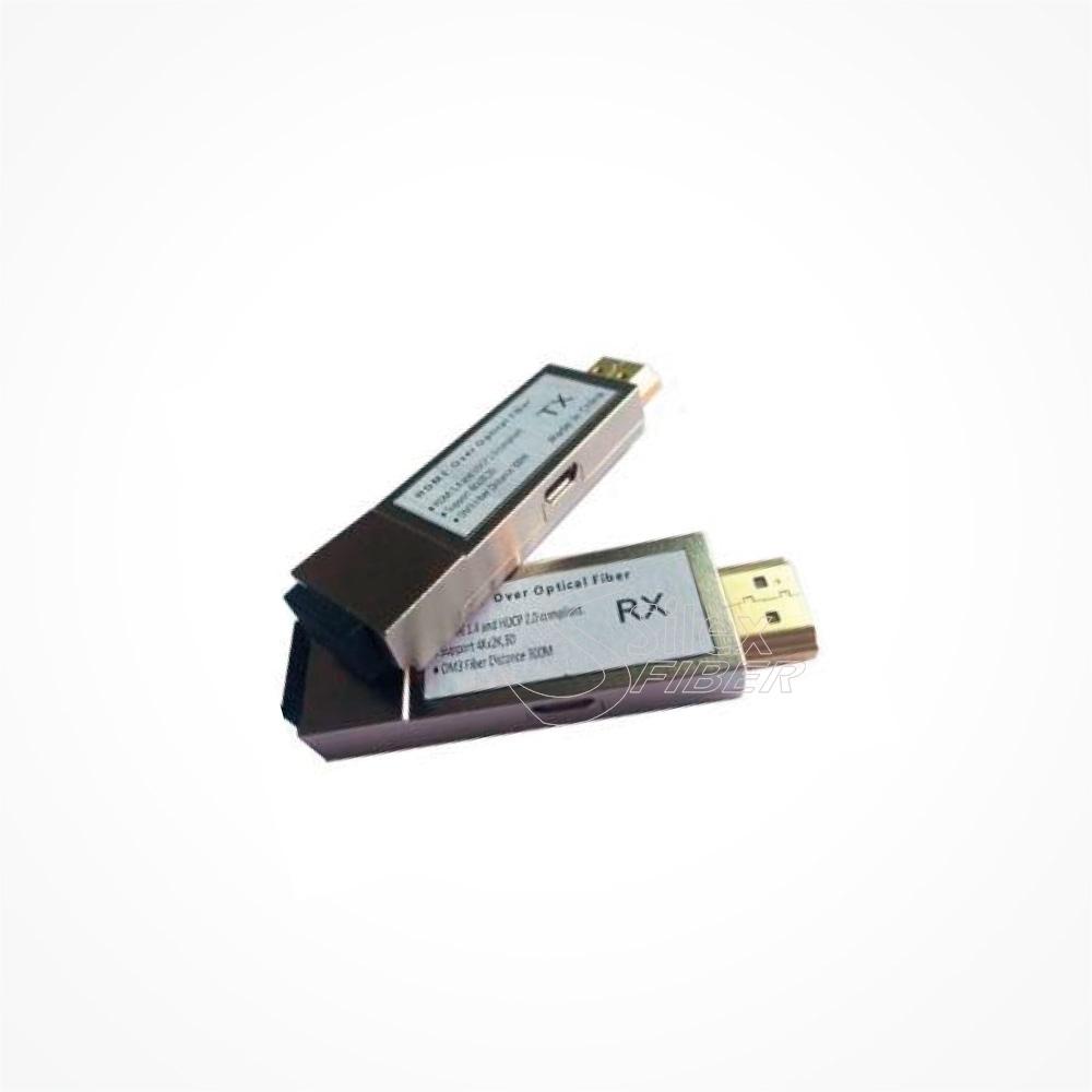 Conversores HDMI a Fibra Optica