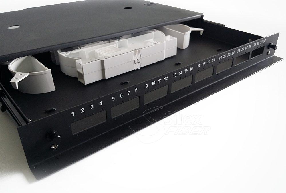Panel de distribucion 19 pulgadas 1U 32SC Vodafone