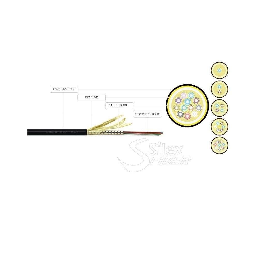 Cable Fibra Optica KST1-Z Miniflex fibra armada soporta