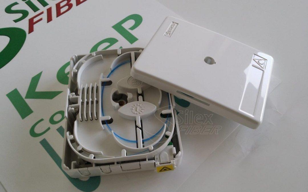 Roseta Abonado Movistar con Adaptador SC APC SHUTTER
