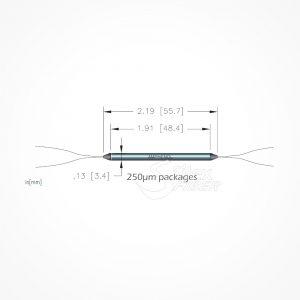 Acoplador Divisor Optico FBT Banda Ancha Doble Ventana 2x2