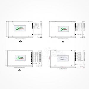 Divisor Splitter Optico PLC MINI Box ABS SC APC