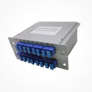 Divisor Splitter Optico PLC CASSETTE 1x16 SC PC