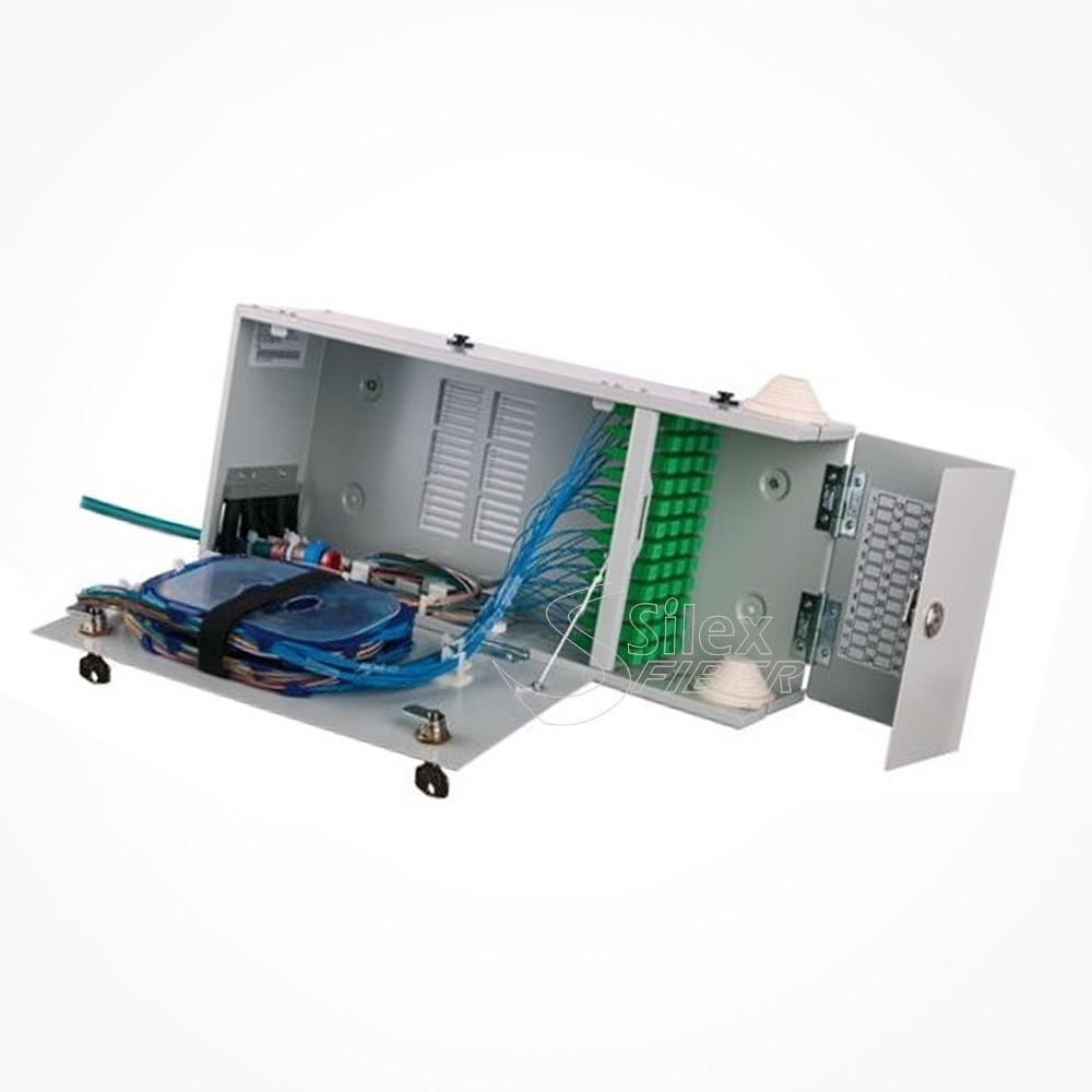 Caja Interior doble puerta para empalme y distribución de Fibra Optica Multioperador