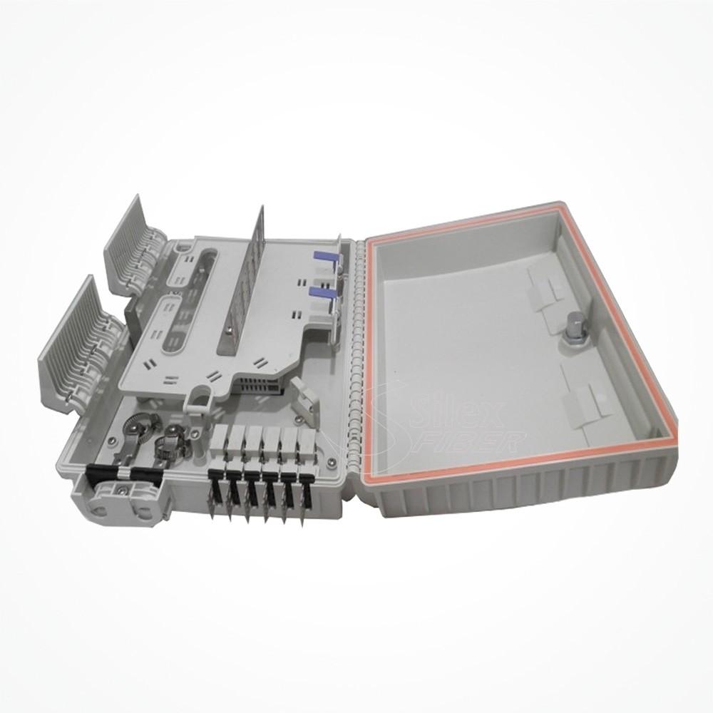 Caja Exterior ABS para empalme y distribución de Fibra Optica