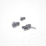 Grapa pared Fibra Optica