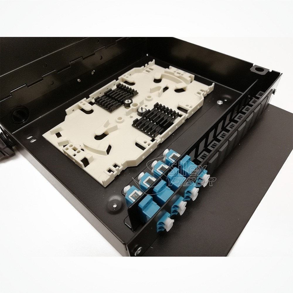 PatchPanel Mural y Carril DIN Metalica SLXBOX-C