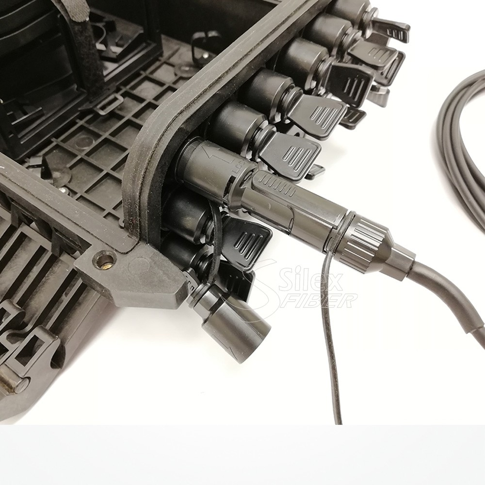 Nuevo Conector Fibra Optica Silex IPS IP67 Estanco