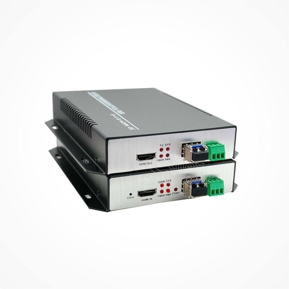 Conversor 4K HDMI a Fibra Optica SM V3 80km