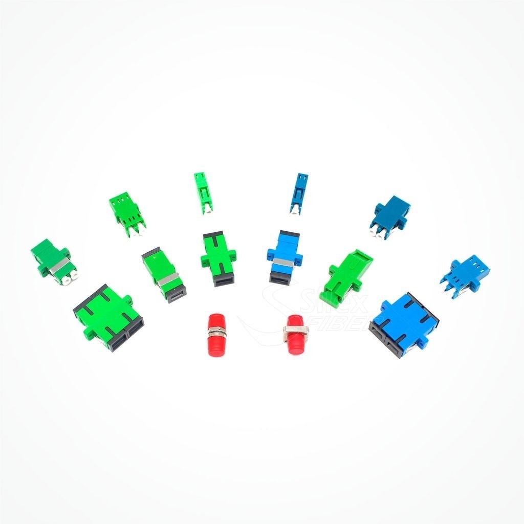 Adaptadores y Acopladores Fibra Optica