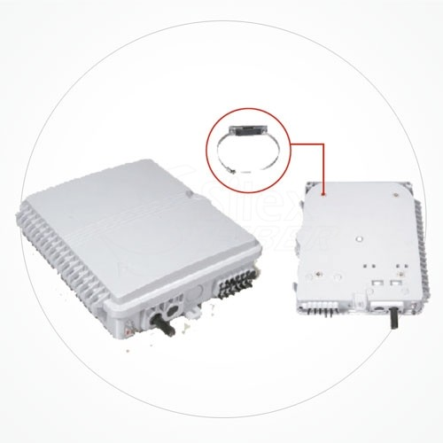 Caja Distribucion 225*200*65mm 8SC IP65 SCS8H