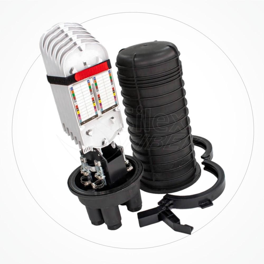 Caja estanca torpedo B IP68 hasta 72 fibras SA72-6B-2A