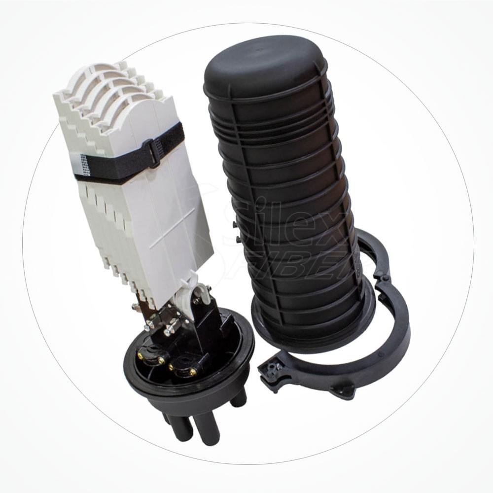 Caja estanca torpedo B IP68 hasta 144 fibras SA144-4A-2A