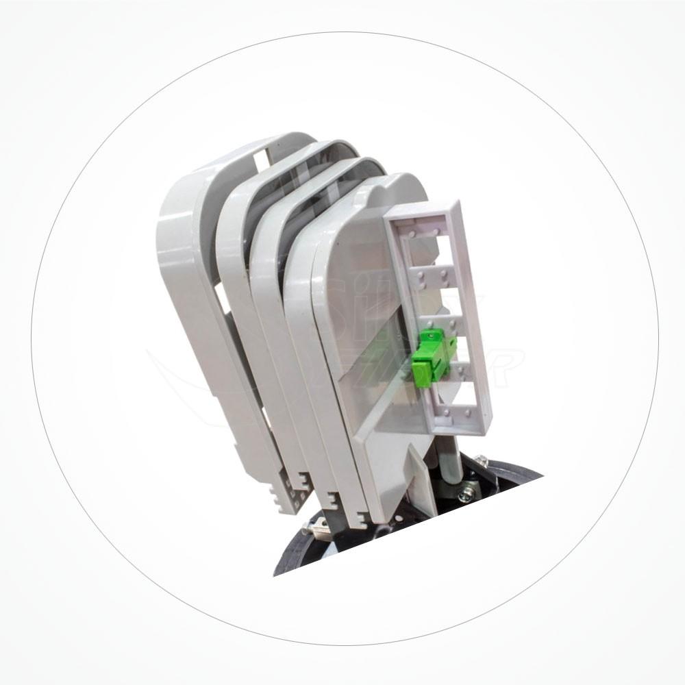 Caja estanca torpedo B IP68 hasta 72 fibras SA72-18-2A
