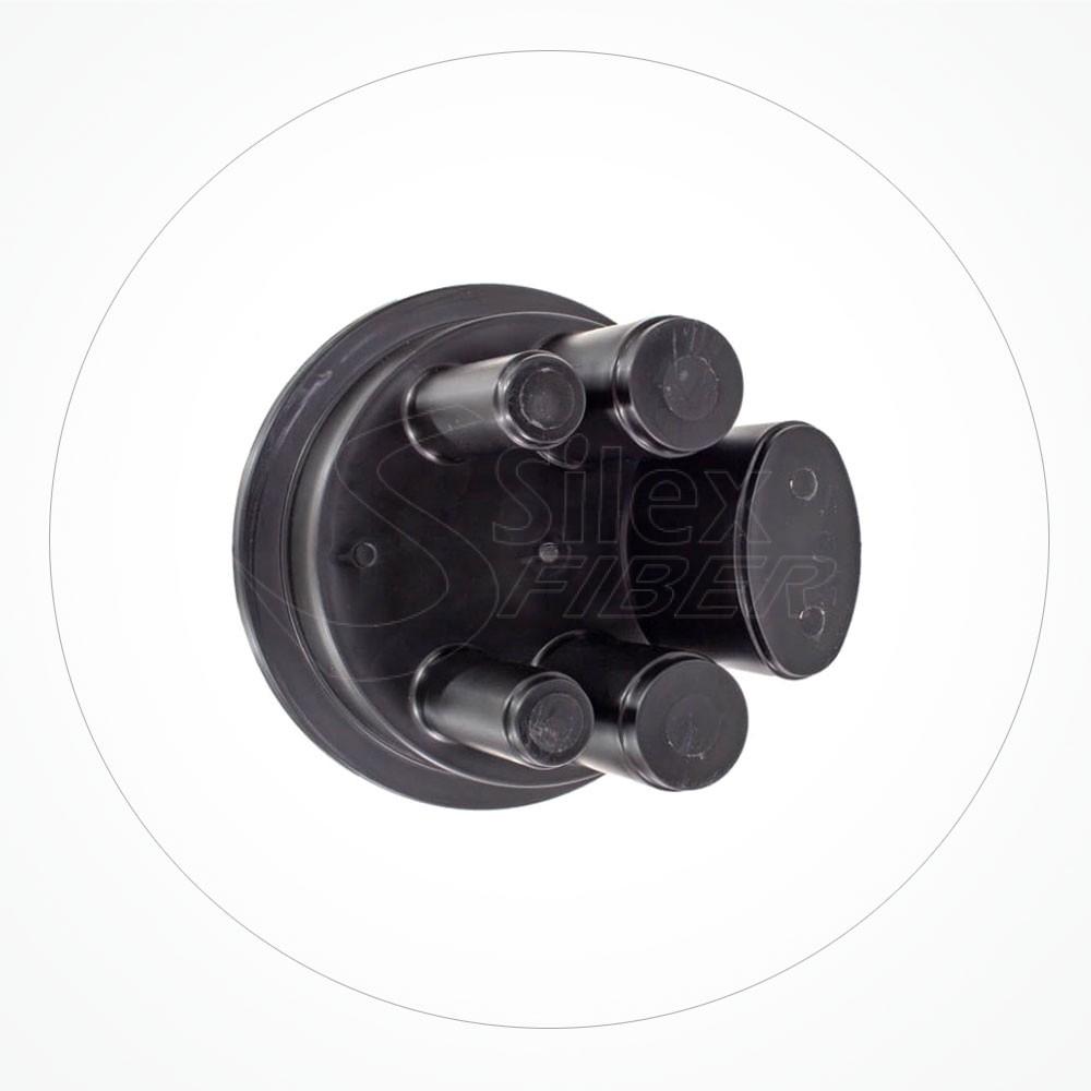 Caja estanca torpedo B IP68 hasta 84 fibras SA84-4B-2A