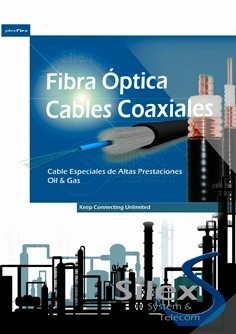 Díptico Cables Fibra Optica Gas & Oíl