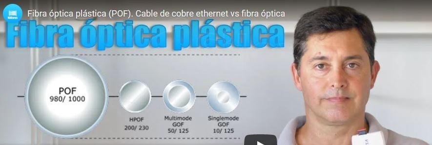 Videos sobre la Fibra Plástica FOP – POF