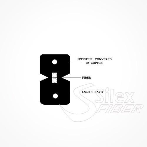 Acometida Exterior SC APC G657A2 DROP plano