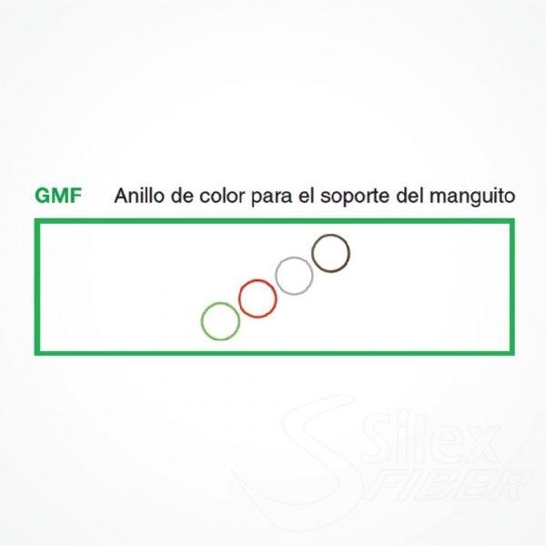 Anillo Silicona Colores GMF de identificacion