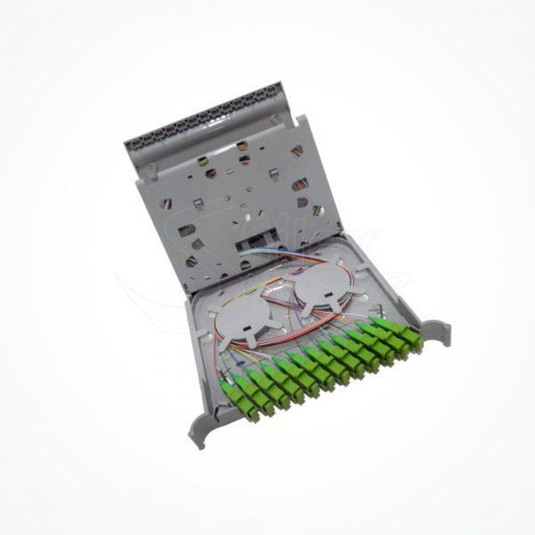 Bandeja ODF Distribuidor ORSM 12fusiones BOR12