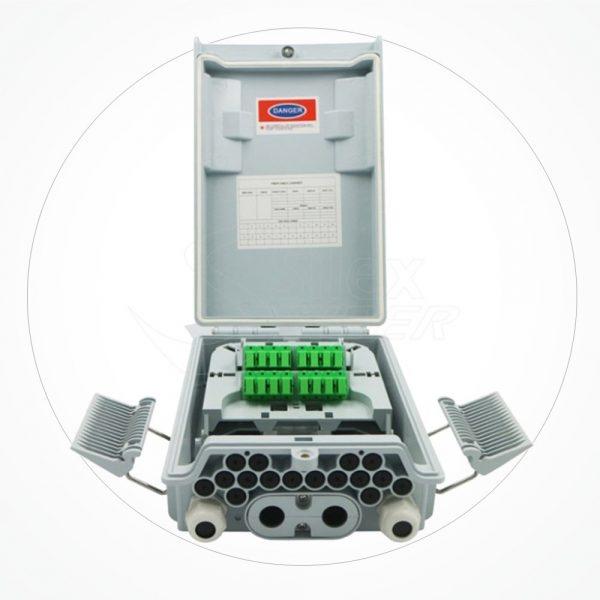 Caja Distribucion 274*175*82mm 12SC IP65 SCS16E-2A