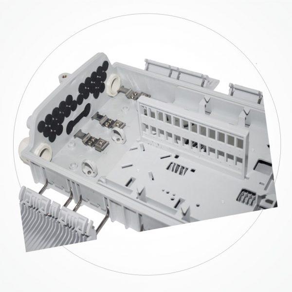 Caja Distribucion 330*210*87mm 24SC IP65 SCS24N