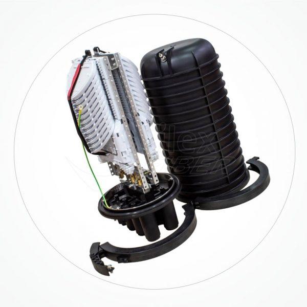 Caja estanca torpedo B IP68 hasta 288 fibras SA288-2A