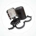 Caja estanca torpedo B IP68 hasta 36 fibras SA36-04-2A