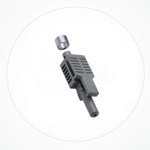 Conector HFBR V-PIN FOP SX Bloqueo Crimpado
