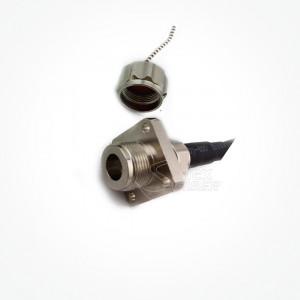 Conector Metalico 2 Fibras ODC Socket