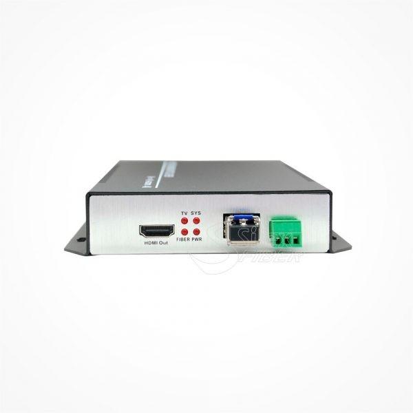 Conversor 4K HDMI a Fibra Optica SM V2