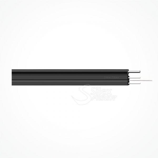 Cable Fibra Optica Autosoportado Exterior Cubierta DROP FLAT F8 Cod.SXW10020501AS