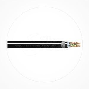 Cable FTP Rigido AGW23 Cubierta LSZH Cat6 Armado ATEX