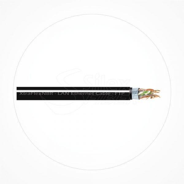 Cable FTP SuperFlexible AGW26 Cubierta NBR Xtrem Cat6