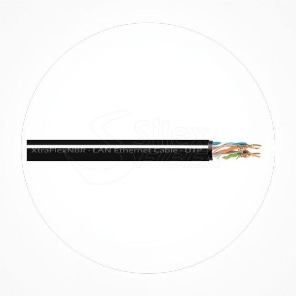 Cable UTP SuperFlexible AGW26 Cubierta NBR Xtrem Cat6