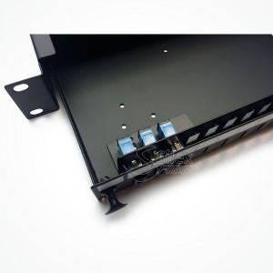 Panel de distribucion Fibra Optica 1U 24-32-48 S-Max48