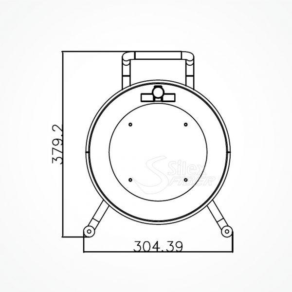 Roller Vacio S300 para Fibra Optica