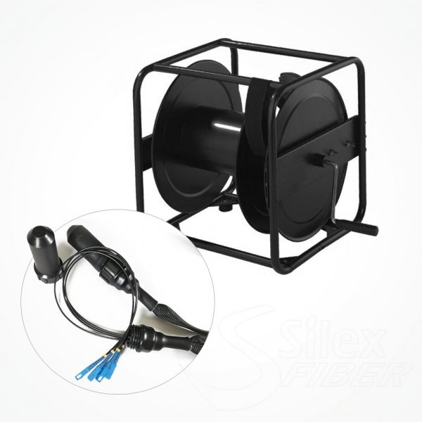 Enrollador Metalico Fibra Optica S5445 Hydra