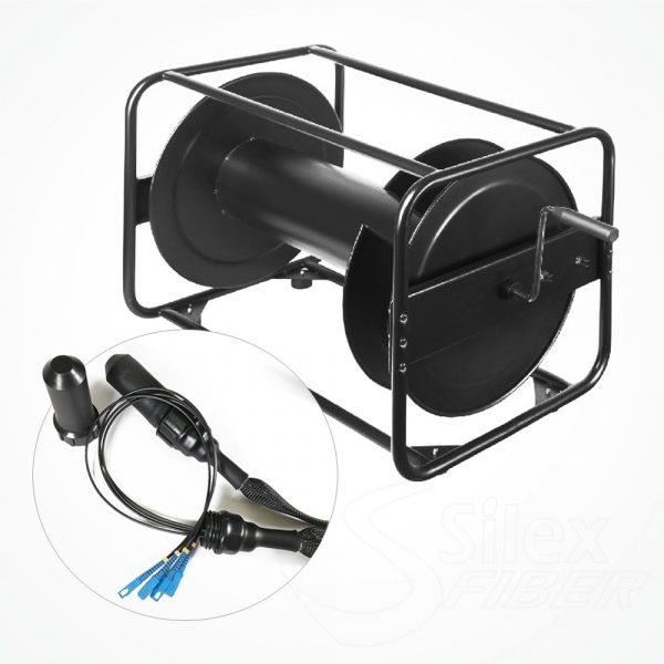Enrollador Metalico Fibra Optica S6845 Conectores | LC | SC | ST | LEMO | IP67