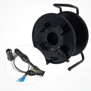 Enrollador Metalico Fibra Optica SH385M Hydra
