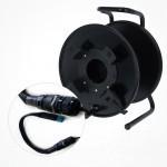 Enrollador Metalico Fibra Optica SH385M Conector LC