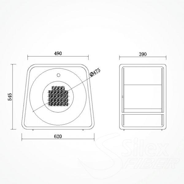 Roller Vacio SAV310M para Fibra Optica