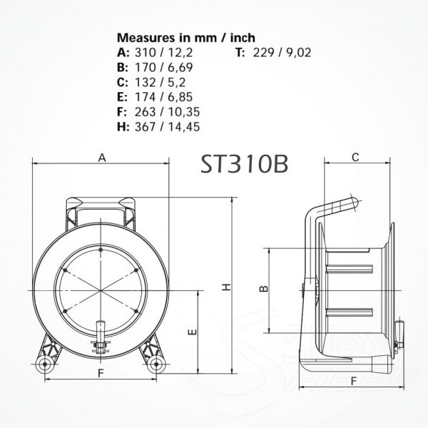Roller Vacio ST310B para Fibra Optica