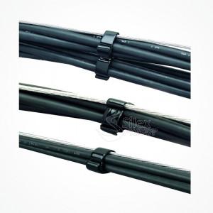 Soporte Cables Brida engomada Fiador SGOM3