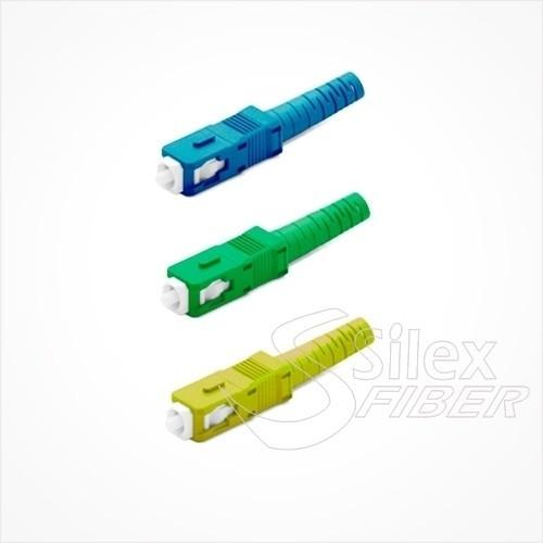 Conector fibra optica SC
