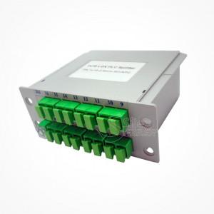 Divisor Splitter Optico PLC CASSETTE 1x16 SC APC