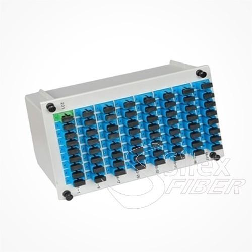 Divisor Splitter Optico PLC CASSETTE 1x64 SC PC