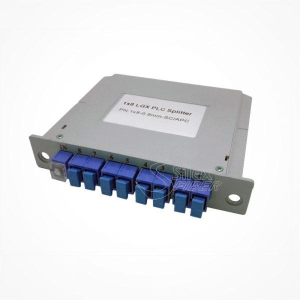 Divisor Splitter Optico PLC CASSETTE 1x8 SC PC